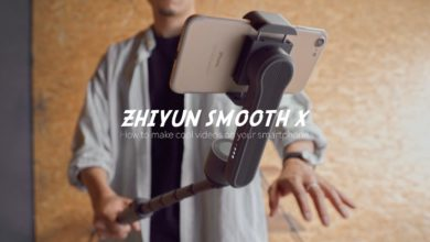 Photo of 【超小型】話題の最新スマホ用ジンバル「ZHIYUN SMOOTH X」でスマホ動画がレベルアップ! – How to make cool videos on your smartphone.