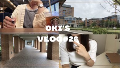 Photo of VLOG#26(ENG)10ヶ月ぶりに大学に行ってみました  going back to campus for the first time in 10 months