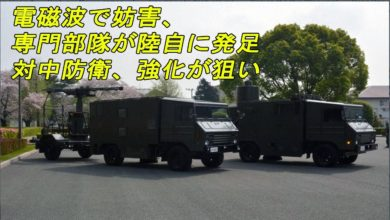 Photo of ニュース速報   ✩ 電磁波で妨害、専門部隊が陸自に発足 対中防衛、強化が狙い ✩ 新着ニュース 意味 JP