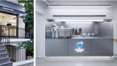 Photo of 「HUMAN MADE OFFLINE STORE」内に、「HUMAN MADE Cafe by Blue Bottle Coffee」をオープン